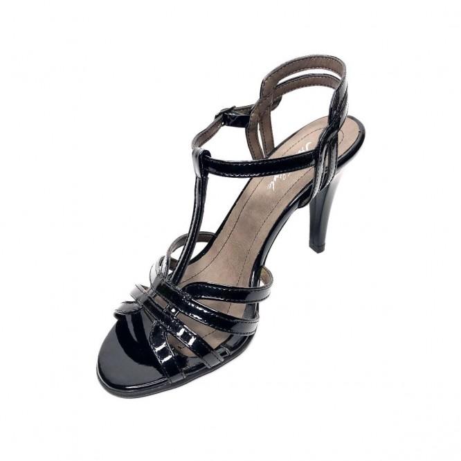 Sandale din piele naturala 395-Lac Negru