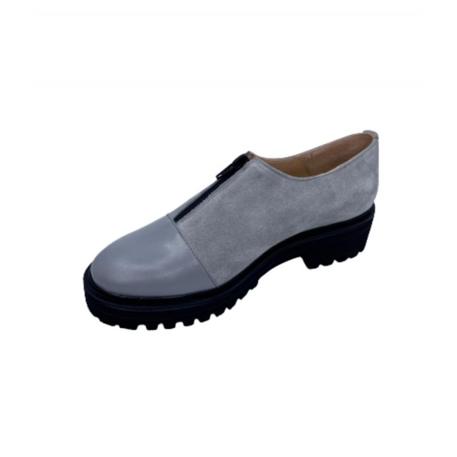 Pantofi din piele naturala 619-Ant. 230-231